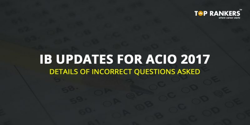 IB Updates for ACIO 2017