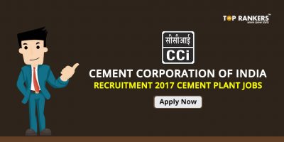 Cement Corporation of India Recruitment 2017 – Cement Plant Jobs