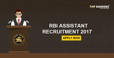 RBI Assistant Notification 2017 – Apply for 623 Assistant posts