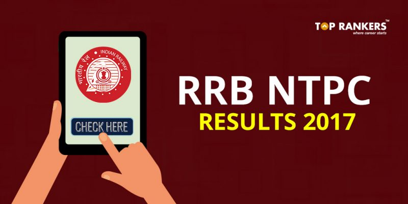 RRB NTPC Final Result 2017
