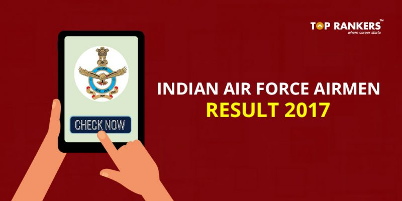 Indian Air Force Airmen Result 2017