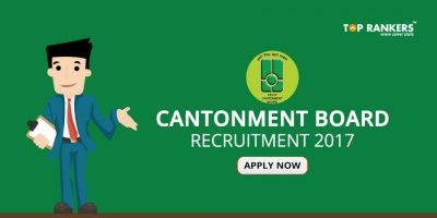 Cantonment Board Recruitment 2017- Apply for 67 Vacancies