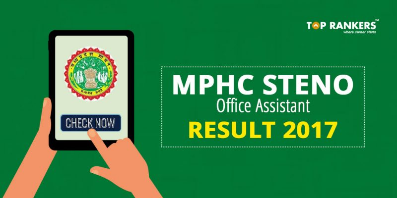 MPHC Steno Office Assistant Result