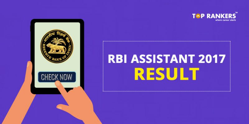 rbi assistant result final
