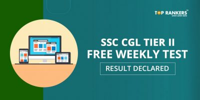 SSC CGL Tier 2 Free Weekly Test Result Declared