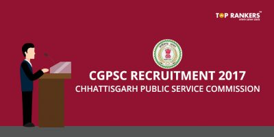 CGPSC Recruitment 2017 – Apply for Multiple Posts Here