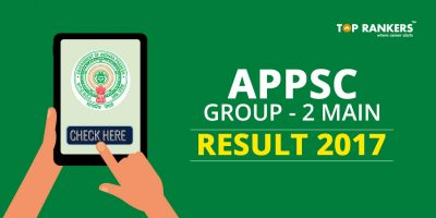 APPSC Group 2 Mains Result 2017 – Direct link to view result