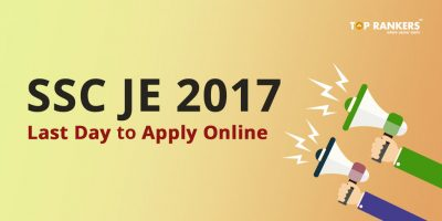 SSC JE 2017 Last Date Reminder – Apply Now