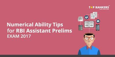 RBI Assistant Prelims Numerical Ability Tips 2017 – Check Tips Here