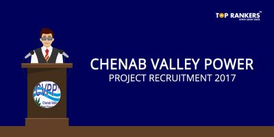 Chenab Valley Power Project Recruitment 2017