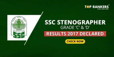 SSC Stenographer Result 2017 Declared for Grade C & D