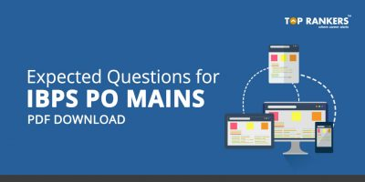 Expected Questions for IBPS PO Mains PDF Download