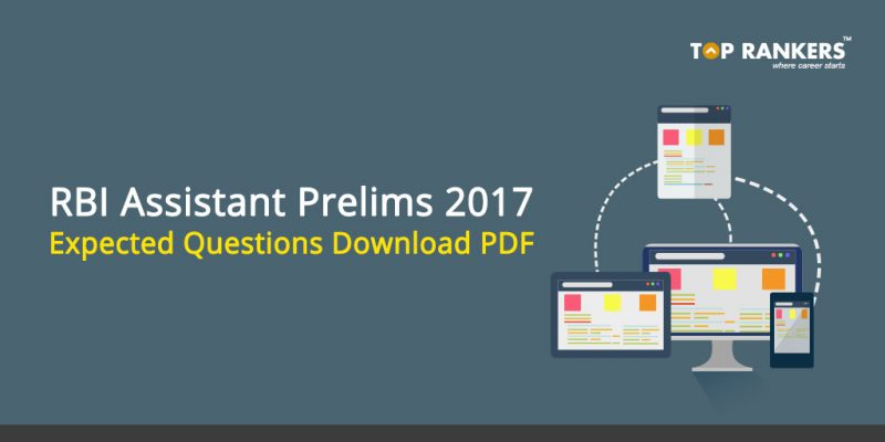 RBI Assistant Prelims Expected Questions - Download PDF