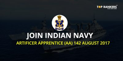 Indian Navy AA Vacancies, Apply for Indian Navy Artificer Apprentice Recruitment