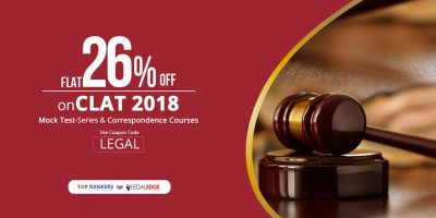 CLAT Mock Test Offers for Constitution Day- Get FLAT 26 Percent Off