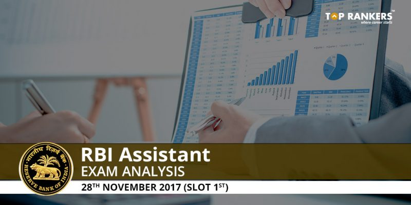RBI Assistant Prelims Exam Analysis 28th November 2017 Shift 1