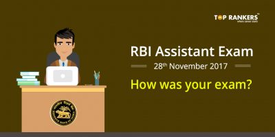 RBI Assistant Prelims Exam Analysis 28th November 2017 – How was your Exam?
