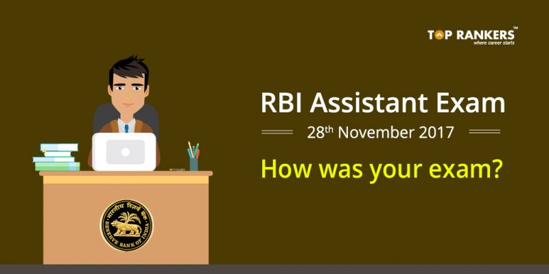 RBI Assistant Prelims Exam Analysis 28th November 2017