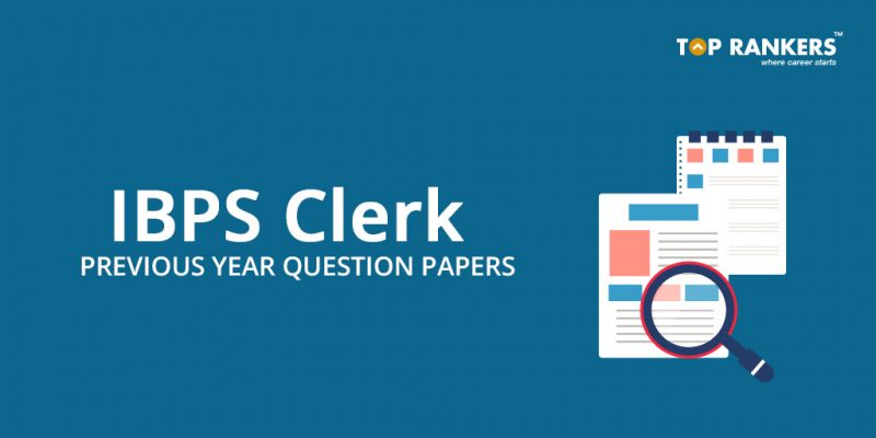 IBPS Clerk Question Papers