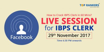 IBPS Clerk Live Session – How to Crack IBPS Clerk in 60 Minutes?