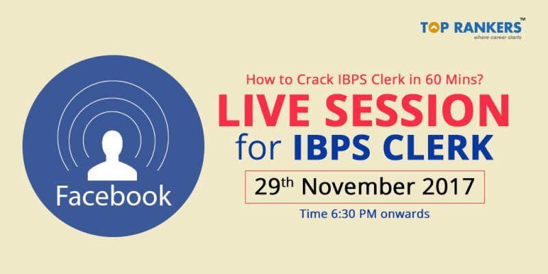 IBPS Clerk Live Session