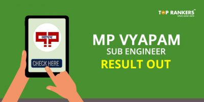 MP Vyapam Sub Engineer Result 2017 – Check Your Result Here