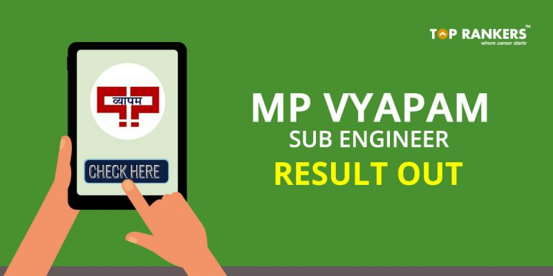 MP Vyapam Sub Engineer Result