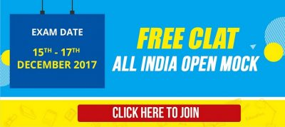 FREE CLAT All India Test- Designed by CLAT Experts