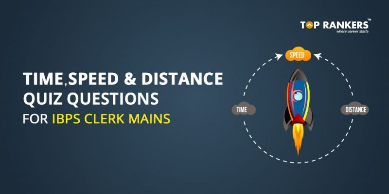 Time Speed and Distance Quiz Questions