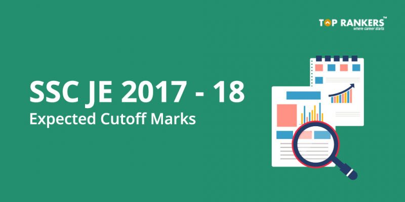 SSC JE Cut Off Marks 2017