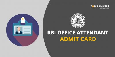 RBI Office Attendant Admit Card 2017-18 – Direct Link to Download
