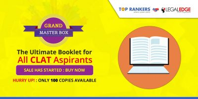 CLAT Grand Master Box Question Paper: The Ultimate Booklet for all Law Aspirants. The Sale Has Begun!