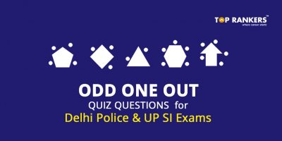 Odd One Out Quiz Questions for Delhi Police and UP SI