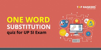 One word substitution Quiz for UP SI Exam