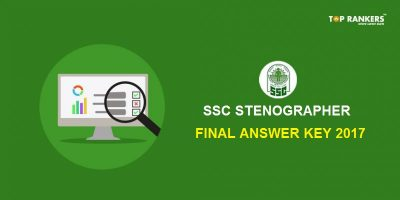 SSC Stenographer Final Answer Key 2017- Check Here