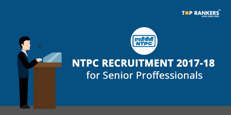 NTPC Recruitment 2017-18