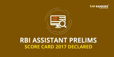 RBI Assistant Prelims Score Card 2017 Declared