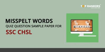Misspelt Words Quiz for SSC CHSL
