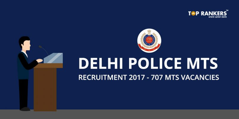 Delhi Police MTS Recruitment 2017