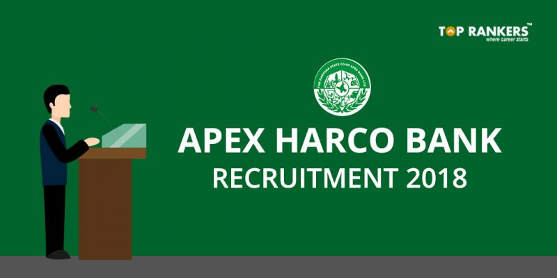 APEX HARCO Bank Recruitment 2018