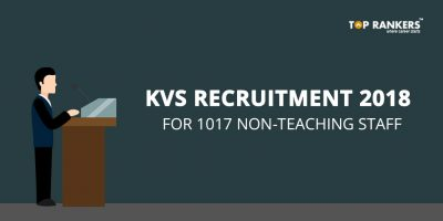 KVS Recruitment 2018 for Non-Teaching Staff : 1017 Vacancies for LDC, AO, UDC, Finance Officer, Steno