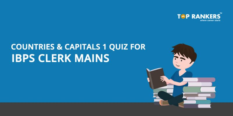 Countries and Capitals 1 Quiz Questions