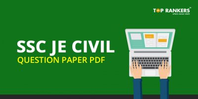 SSC JE Civil Question Paper PDF