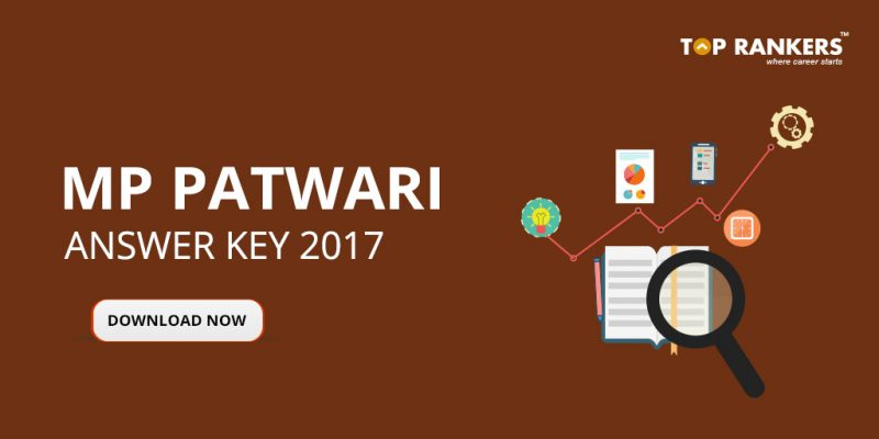 MP Vyapam Patwari Answer Key 2017