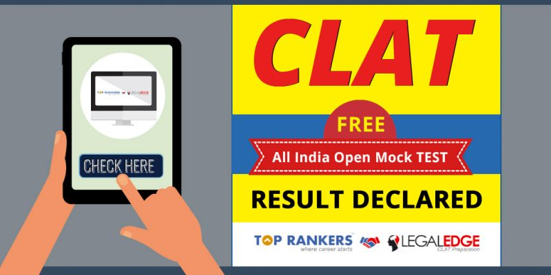 CLAT All India Test Result