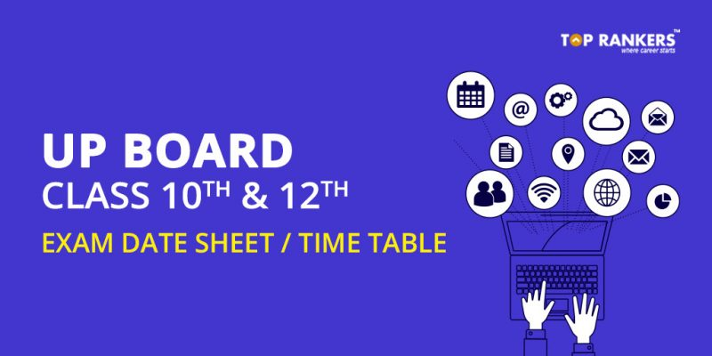 UP Board 10th and 12th Date Sheet
