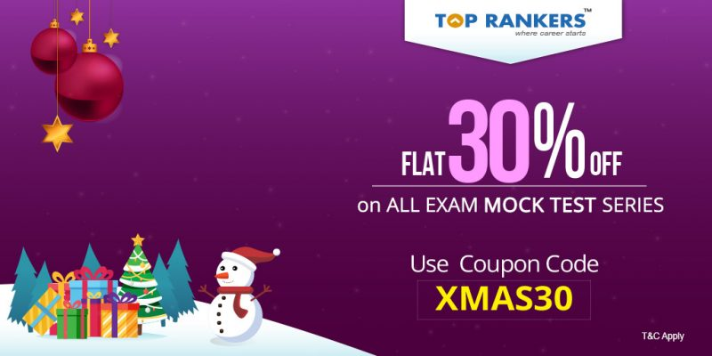 FLAT 30% off on All SSC & Banking Exams Mock Test Series