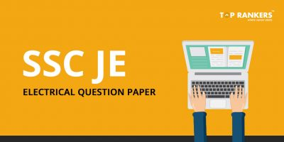 SSC JE Electrical Question Paper Pdf – Download Here