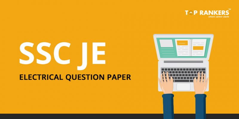 SSC JE Electrical Question Paper