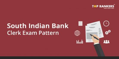 South Indian Bank Clerk Exam Pattern